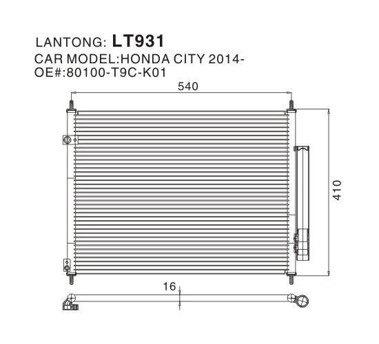 LT931 (HONDA 80100-T9C-K01)