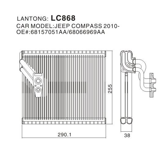 LC868 (JEEP 68157051AA 68066969AA)