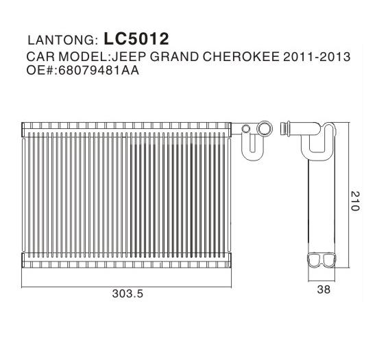 LC5012 (JEEP 68079481AA)