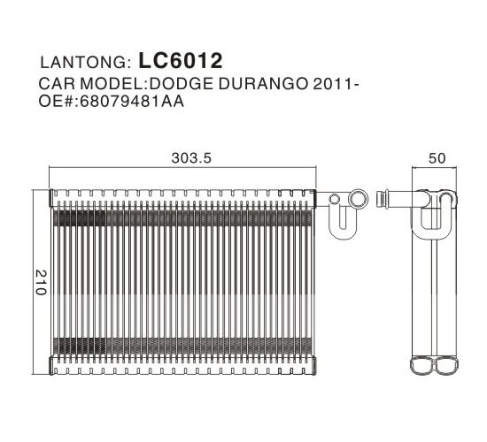 LC6012 (DODGE 68079481AA)